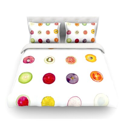Fruit by Theresa Giolzetti Food Featherweight Duvet Cover Size: King
