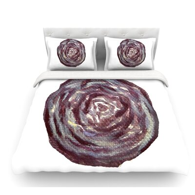 Cabbage by Theresa Giolzetti Featherweight Duvet Cover Size: King