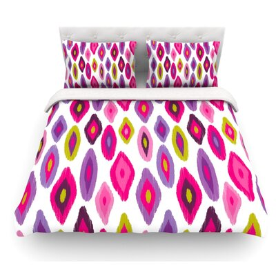 Moroccan Dreams by Nicole Ketchum Featherweight Duvet Cover Size: Queen