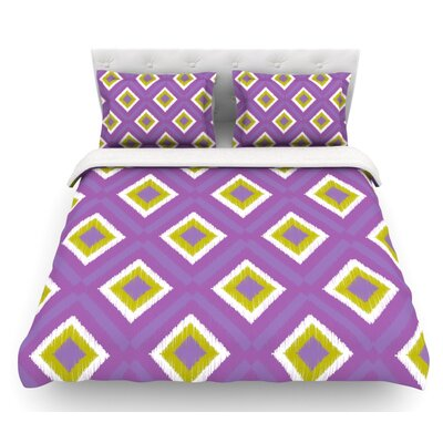 Spash Tile by Nicole Ketchum Featherweight Duvet Cover Size: Queen