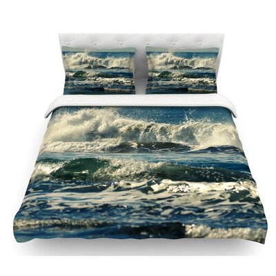 Forever Young by Robin Dickinson Coastal Featherweight Duvet Cover Size: King