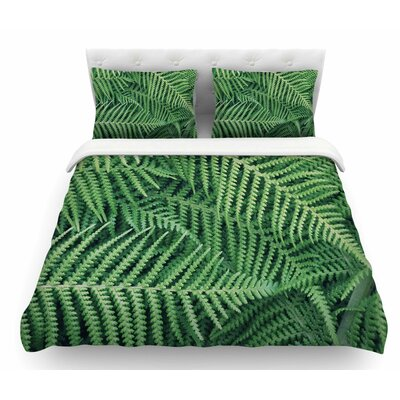 Ferns by Richard Casillas Featherweight Duvet Cover Size: Queen