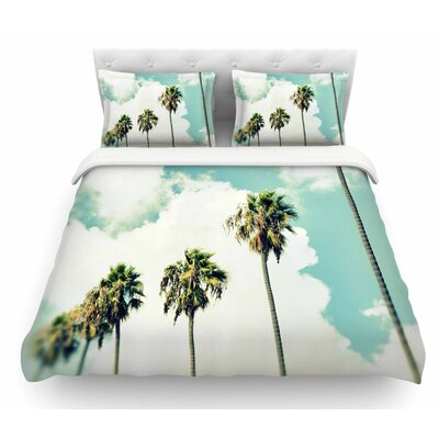 Paradise and Heaven by Richard Casillas Featherweight Duvet Cover Size: Queen