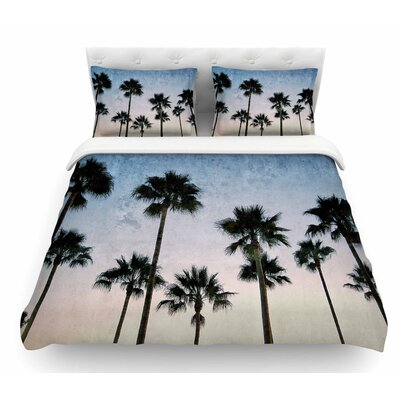 Paradise Palms by Richard Casillas Featherweight Duvet Cover Size: King