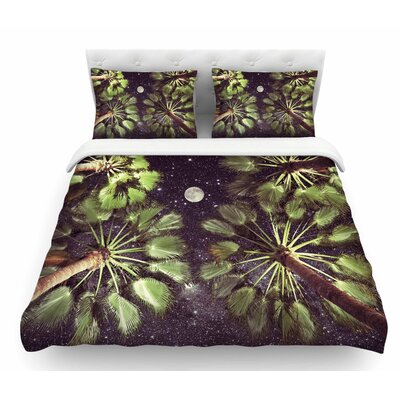 Elevated Paradise by Richard Casillas Featherweight Duvet Cover Size: Queen