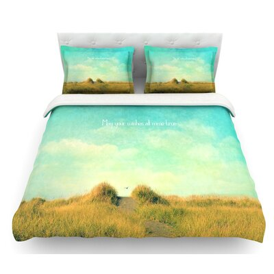 May Your Wishes by Robin Dickinson Featherweight Duvet Cover Size: Twin