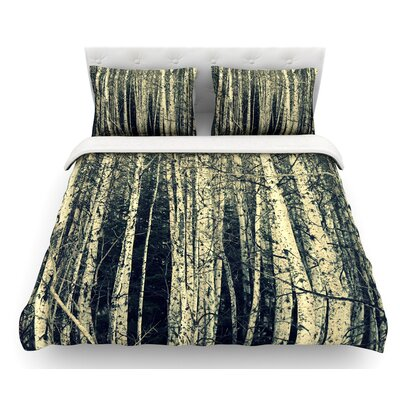 Birch by Robin Dickinson Featherweight Duvet Cover Size: Queen