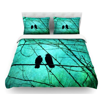 Smitten by Robin Dickinson Featherweight Duvet Cover Size: Twin