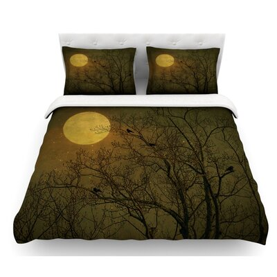 Starry Night by Robin Dickinson Featherweight Duvet Cover Size: Queen