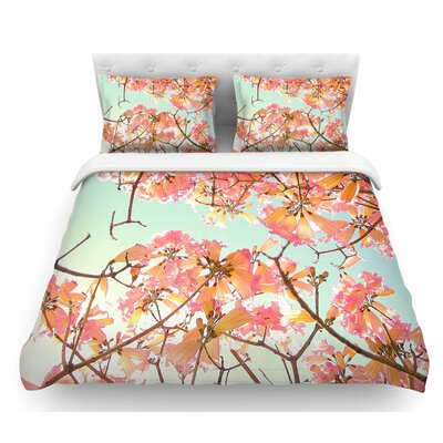 Spring Splendor by Richard Casillas Featherweight Duvet Cover Size: King