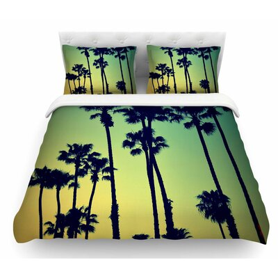 Ocean Blvd Cruisin by Richard Casillas Featherweight Duvet Cover Size: Queen