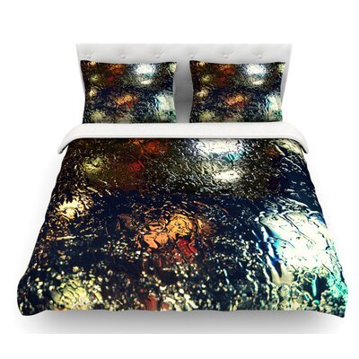 Blinded by Robin Dickinson Water Featherweight Duvet Cover Size: Queen