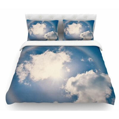 Halo by Robin Dickinson Featherweight Duvet Cover Size: Queen