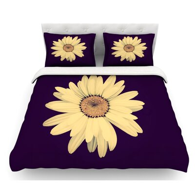 Half Crazy by Robin Dickinson Featherweight Duvet Cover Size: Twin