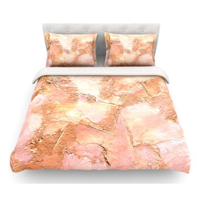 Bronze It by Rosie Brown Featherweight Duvet Cover Size: Twin