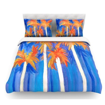 Florida Autumn by Rosie Brown Featherweight Duvet Cover Size: King