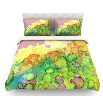 Sea Life III by Rosie Brown Featherweight Duvet Cover Size: Twin