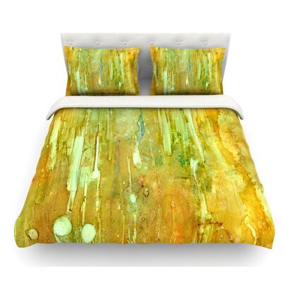 Rock City by Rosie Brown Featherweight Duvet Cover Size: Queen