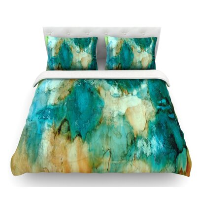 Waterfall by Rosie Brown Featherweight Duvet Cover Size: Twin