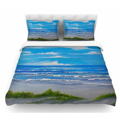 Sanibel Island by Rosie Brown Coastal Featherweight Duvet Cover Size: Twin