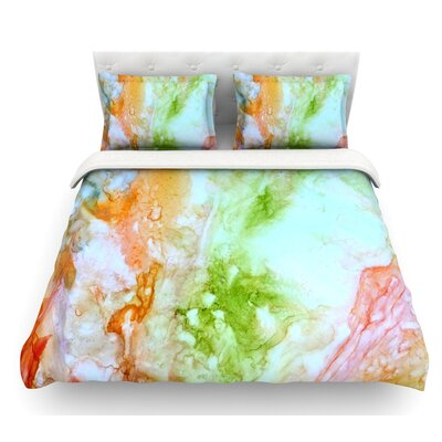 November Rain by Rosie Brown Featherweight Duvet Cover Size: Twin