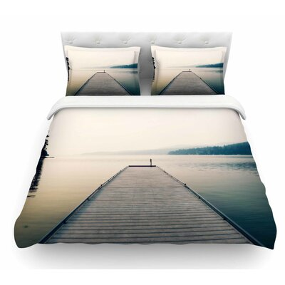 Tranquility by Robin Dickinson Featherweight Duvet Cover Size: King