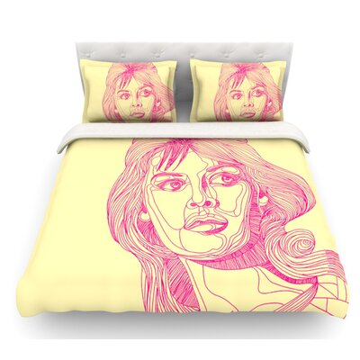 Bardot by Roberlan Girl Featherweight Duvet Cover Size: Twin