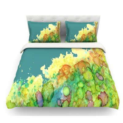 Sea Life II by Rosie Brown Featherweight Duvet Cover Size: King