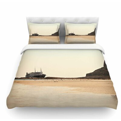 Nautical Bliss by Sylvia Coomes Featherweight Duvet Cover Size: King