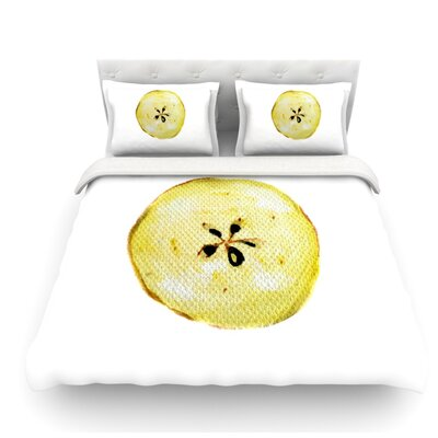 Apples by Theresa Giolzetti Featherweight Duvet Cover Size: Twin