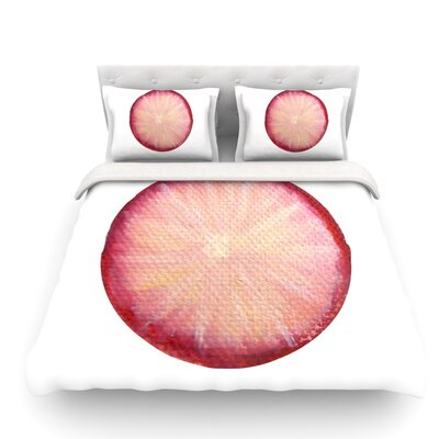 Radish by Theresa Giolzetti Featherweight Duvet Cover Size: King