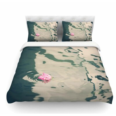 Venetian Rose by Sylvia Coomes Featherweight Duvet Cover Size: Twin