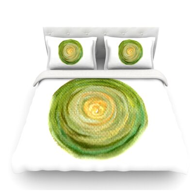 Leeks by Theresa Giolzetti Featherweight Duvet Cover Size: Twin