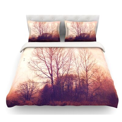 Explore by Sylvia Cook Featherweight Duvet Cover Size: Twin