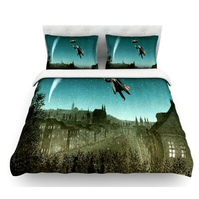 The Departure by Suzanne Carter Featherweight Duvet Cover Size: King