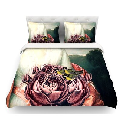 The Bouquet by Suzanne Carter Featherweight Duvet Cover Size: Twin