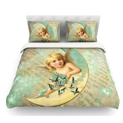 Angel by Suzanne Carter Featherweight Duvet Cover Size: King