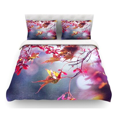 Autumn by Sylvia Cook Featherweight Duvet Cover Size: Queen