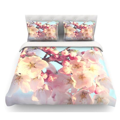 Waiting for Spring by Sylvia Cook Featherweight Duvet Cover Size: Queen