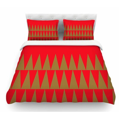 Christmas 1 by Suzanne Carter Featherweight Duvet Cover Size: King