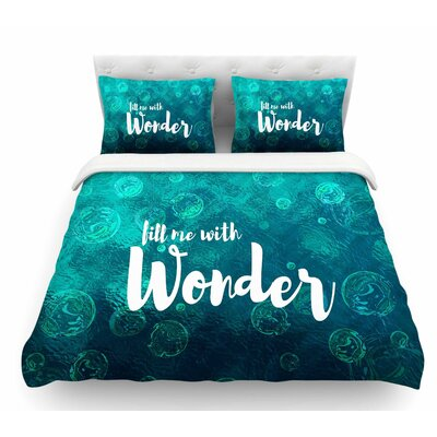 Wonder 2 by Suzanne Carter Featherweight Duvet Cover Size: King