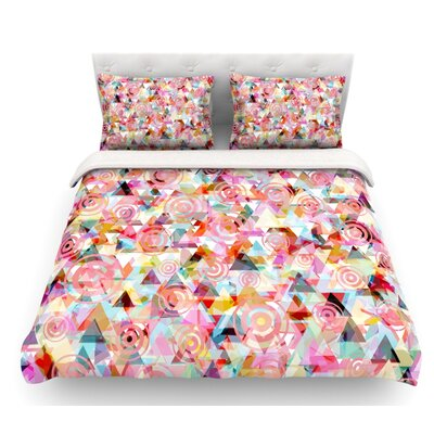 Geo by Suzanne Carter Featherweight Duvet Cover Size: Queen