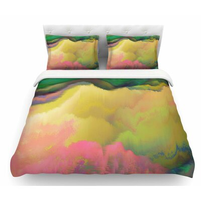 Pastoral by Nina May Featherweight Duvet Cover Size: King