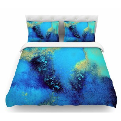 Salten Sea by Nina May Featherweight Duvet Cover Size: Twin