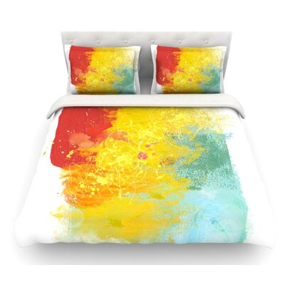 Medley by Oriana Cordero Featherweight Duvet Cover Size: Queen
