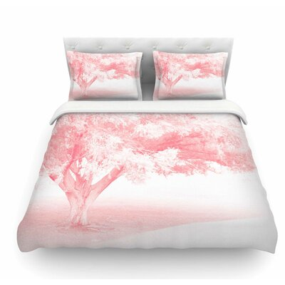 Frost by Sylvia Coomes Featherweight Duvet Cover Size: King