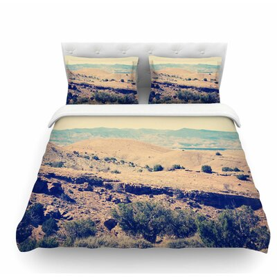 Wild West by Sylvia Coomes Nature Featherweight Duvet Cover Size: Queen