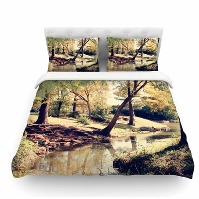 Walk in the Park by Sylvia Coomes Featherweight Duvet Cover Size: Queen