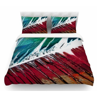Splish Splash by Steve Dix Featherweight Duvet Cover Size: Queen
