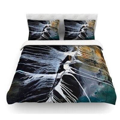 Bones by Steve Dix Featherweight Duvet Cover Size: King